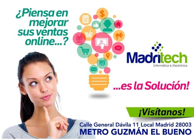 mejora ventas online con madritech
