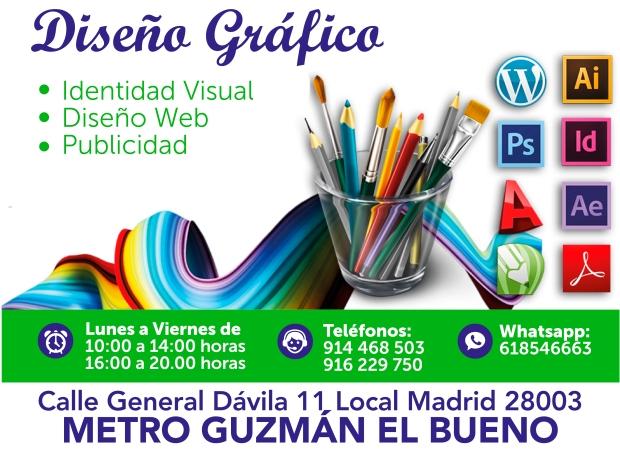 618546663 diseño grafico en madrid