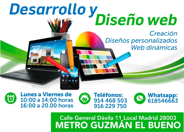 618546663 diseño web en madrid