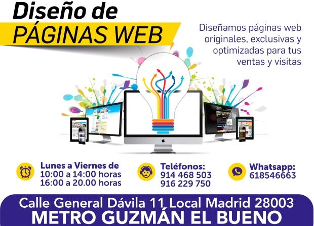 618546663 diseño web para mejorar tu negocio en guzman el bueno