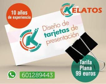 diseñador de tarjetas de visita en madrid
