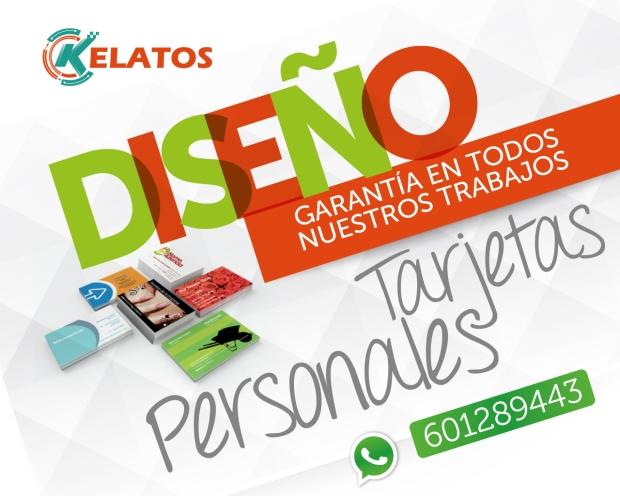 diseño de tarjetas personales en madrid